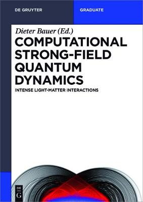 Computational Strong-Field Quantum Dynamics: Intense Light-Matter Interactions - De Gruyter Textbook (Paperback)