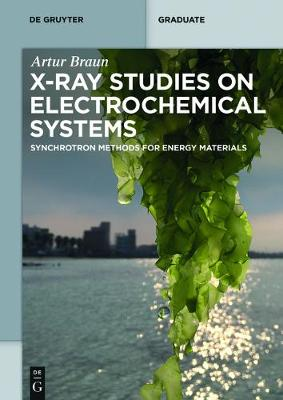 X-ray Studies on Electrochemical Systems: Synchrotron Methods for Energy Materials - De Gruyter Textbook (Paperback)