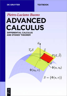 Advanced Calculus: Differential Calculus and Stokes' Theorem - De Gruyter Textbook (Paperback)