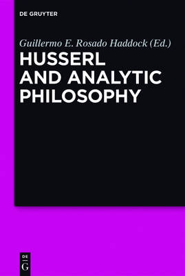 Husserl and Analytic Philosophy