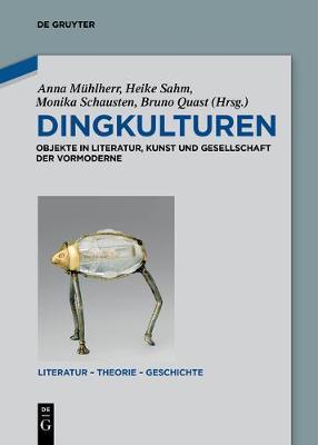 Dingkulturen - Literatur - Theorie - Geschichte 9 (Paperback)