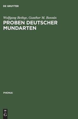 Proben Deutscher Mundarten - Phonai 5 (Hardback)