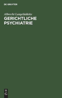 Gerichtliche Psychiatrie (Hardback)