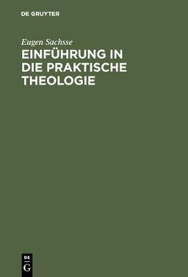Einf hrung in Die Praktische Theologie (Hardback)