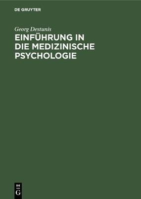 Einf hrung in die medizinische Psychologie (Hardback)