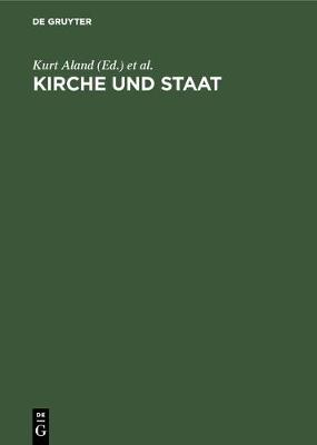Kirche und Staat (Hardback)
