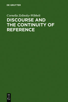Discourse and the Continuity of Reference: Representing Mental Categorization