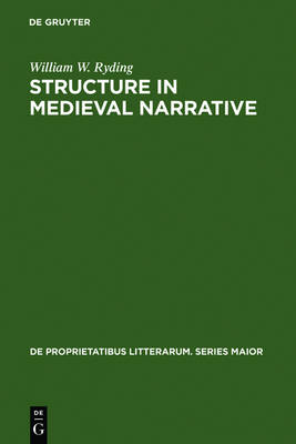 Structure in Medieval Narrative