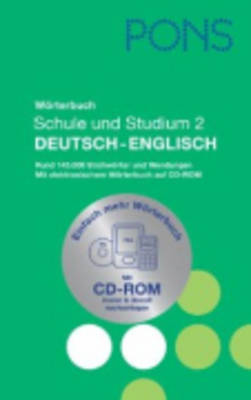 Pons Reference: Pons Worterbuch Deutsch-English MIT CD-Rom (Hardback)