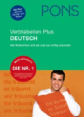 Pons German Series: Pons Verbtabellen Plus Deutsch (Paperback)