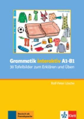 Grammatik interaktiv A1 - B1: 30 Tafelbilder zum Erklaren und  Uben CD-Rom