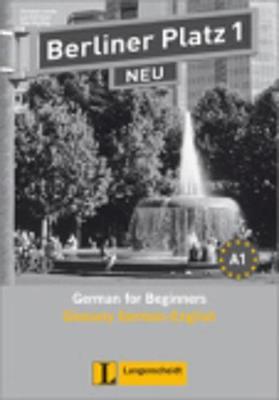 Berliner Platz Neu: Glossar 1 (Paperback)