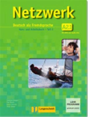 Netzwerk in Teilbanden: Kurs - Und Arbeitsbuch A2 - Teil 1 MIT 2 Audio Cds Und DVD