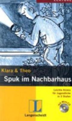 Leichte Krimis fur Jugendliche in 3 Stufen: Spuk im Nachbarhaus - Buch mit Min