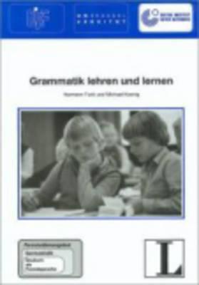 Grammatik Lehren Und Lernen (Paperback)