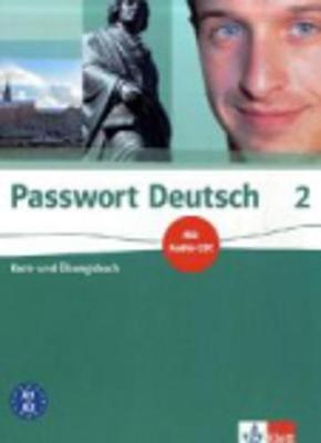 Passwort Deutsch: Kurs- Und Ubungsbuch 2 MIT Audio-CD