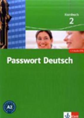 Passwort Deutsch in drei Banden: Kursbuch 2 mit 2 Audio-CDs