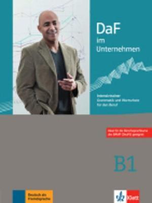 DaF im Unternehmen: Intensivtrainer B1 - Grammatik und Wortschatz fur den Beru (Paperback)