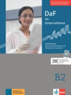 DaF im Unternehmen: Intensivtrainer B2 (Paperback)
