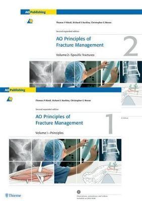 AO Principles of Fracture Management: Vol. 1: Principles, Vol. 2: Specific fractures (Hardback)