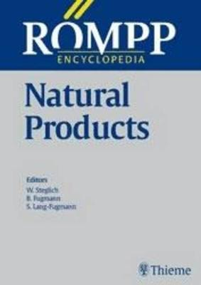 ROEMPP Encyclopedia Natural Products, 1st Edition, 2000 - ROEMPP Lexikon Erg. (Hardback)