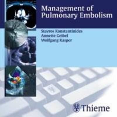 Management of Pulmonary Embolism (CD-ROM)