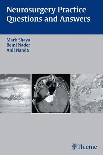 Neurosurgery Practice Questions and Answers (Paperback)
