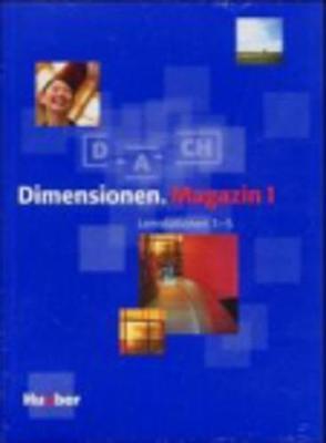 Dimensionen: Lernpaket 1 (Magazin, Lernstationen 1-5, Cds MIT Sprechubungen)