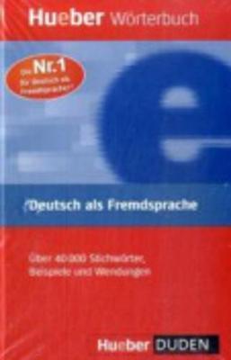 Hueber dictionaries and study-aids: Worterbuch Deutsch als Fremdsprache (Paperback)