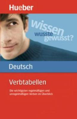 Hueber dictionaries and study-aids: Verbtabellen Deutsch als Fremdsprache (Paperback)