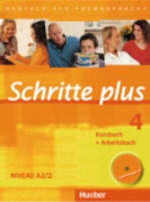 Schritte Plus: Kurs- Und Arbeitsbuch 4 MIT Audio-CD Zum Arbeitsbuch