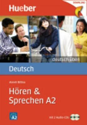 Deutsch Uben: Horen & Sprechen A2 - Buch & CD