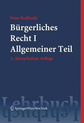 Burgerliches Recht I: Allgemeiner Teil (Paperback)