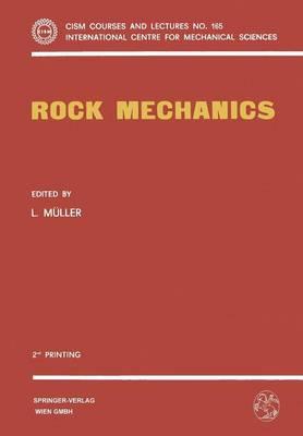 Rock Mechanics - CISM International Centre for Mechanical Sciences 165 (Paperback)