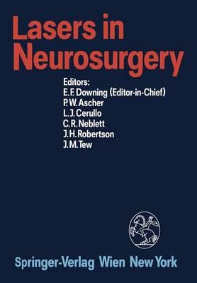 Lasers in Neurosurgery (Paperback)