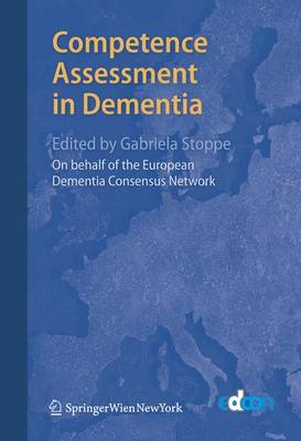 Competence Assessment in Dementia (Paperback)