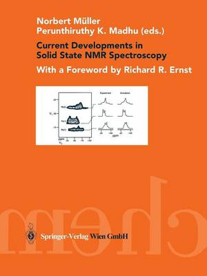 Current Developments in Solid State NMR Spectroscopy (Paperback)