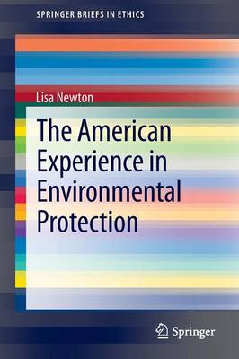 The American Experience in Environmental Protection - SpringerBriefs in Ethics (Paperback)
