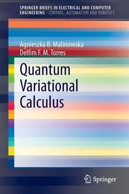 Quantum Variational Calculus - SpringerBriefs in Control, Automation and Robotics (Paperback)