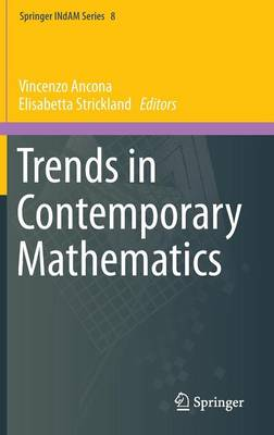 Trends in Contemporary Mathematics - Springer INdAM Series 8 (Hardback)