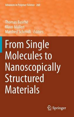 From Single Molecules to Nanoscopically Structured Materials - Advances in Polymer Science 260 (Hardback)