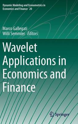 Wavelet Applications in Economics and Finance - Dynamic Modeling and Econometrics in Economics and Finance 20 (Hardback)