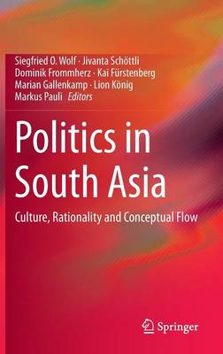 Politics in South Asia: Culture, Rationality and Conceptual Flow (Hardback)