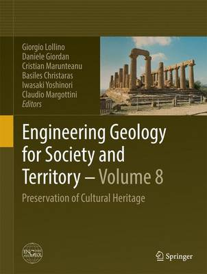 Engineering Geology for Society and Territory - Volume 8: Preservation of Cultural Heritage (Hardback)