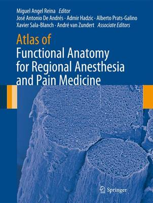 Atlas of Functional Anatomy for Regional Anesthesia and Pain Medicine: Human Structure, Ultrastructure and 3D Reconstruction Images (Hardback)