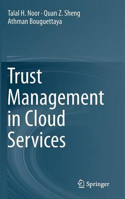 Trust Management in Cloud Services (Hardback)