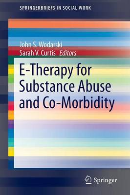 E-Therapy for Substance Abuse and Co-Morbidity - SpringerBriefs in Social Work (Paperback)