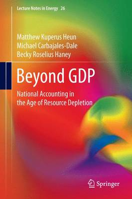 Beyond GDP: National Accounting in the Age of Resource Depletion - Lecture Notes in Energy 26 (Hardback)