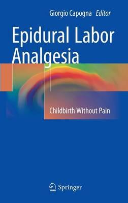 Epidural Labor Analgesia: Childbirth Without Pain (Hardback)
