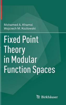 Fixed Point Theory in Modular Function Spaces (Hardback)